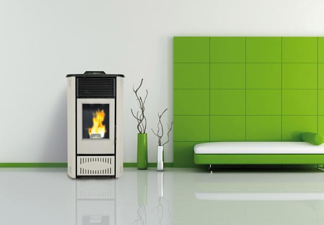 Reyna Hydro, BioBronpi: caldaia  a pellet per soggiorno