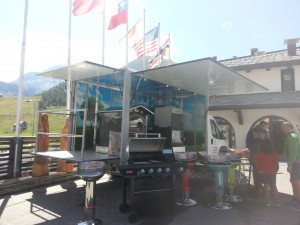 Trail Sestriere del 25 e 26 luglio - La bottega del fuoco