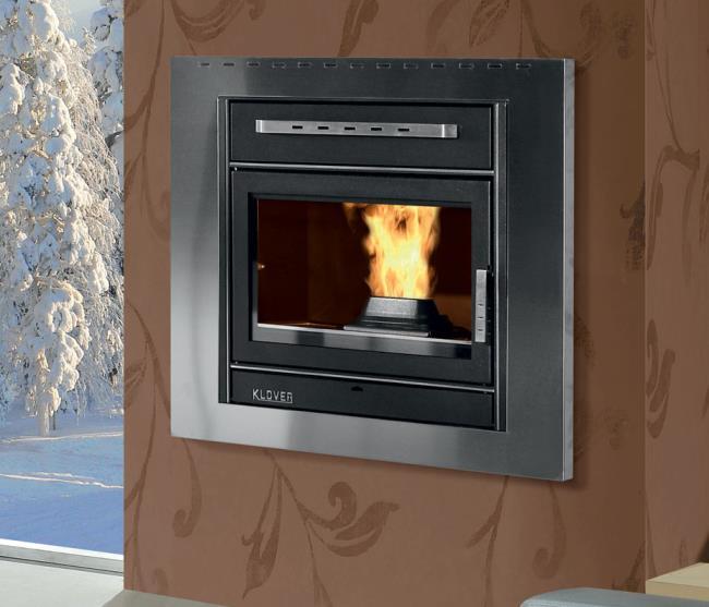 pellet fireplace 18 klover