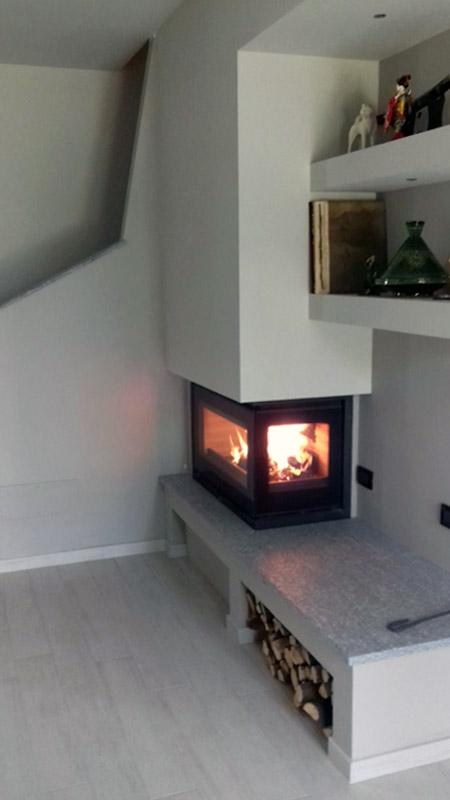 Installazione caminetti la bottega del fuoco sede for Ricambi stufe scan