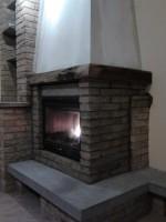 La bottega del fuoco installazione caminetto