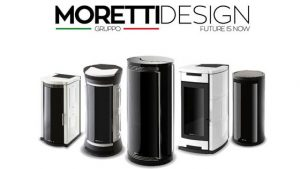moretti design stufe a pellet Liguria