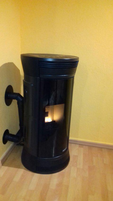 Consigli Acquisto Forni : Installazione stufa moretti la bottega del fuoco sede