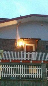 canna fumaria esterna parete doppia a Borghetto