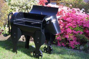 Tecnofire - barbecue mucca carbonella - La Bottega del fuoco