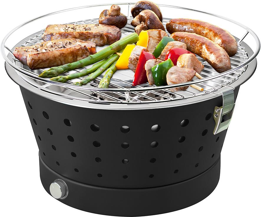 Barbecue a carbonella portatile fun bbq il braciere la bottega del fuoco sede unica di ceriale - Barbecue portatile a carbonella ...