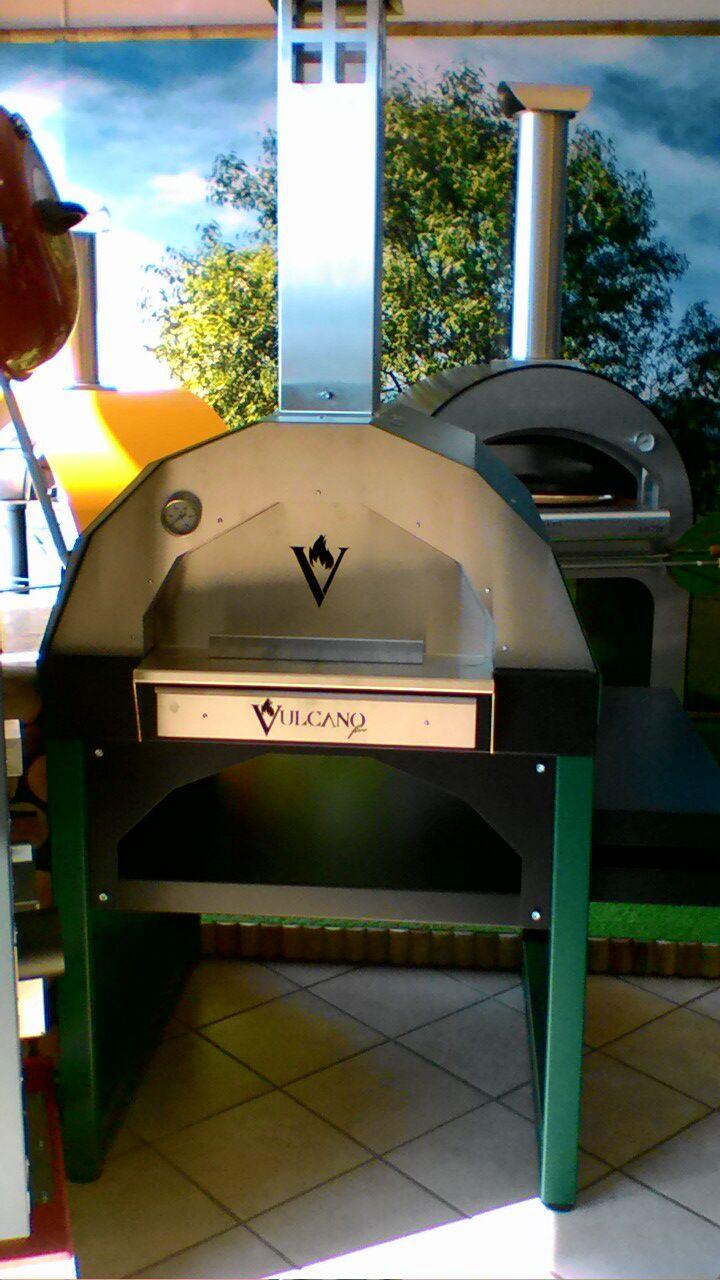 Forno a legna da esterno - Vulcano Fire - La Bottega del Fuoco ...