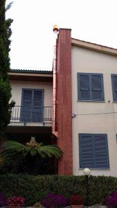 Realizzazione Canna fumaria in rame Liguria