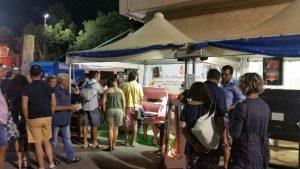 Stand fiera Albenga - La Bottega del Fuoco