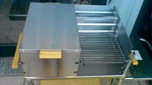 Barbecue a legna in acciaio inox Savona