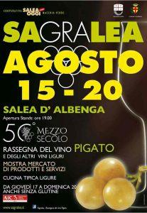 La bottega del fuoco sarà presente a Sagralea, la sagra del vino pigiato a Salea d'Albenga