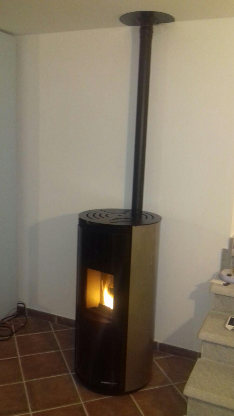 Installazione e posa stufa moretti la bottega del fuoco for Ricambi stufe scan