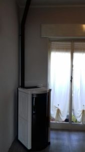 Albenga Installazione stufa a pellet idro Moretti modello Elegance