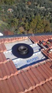 realizzazione passaggio tetto